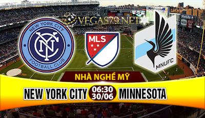 Nhận định, soi kèo nhà cái New York City vs Minnesota