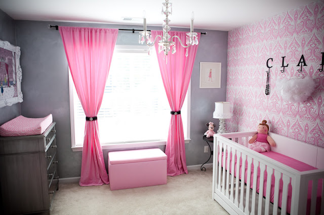 Bebitas Mujeres Bedroom For Baby Girls By Dormitoriosblogspotcom