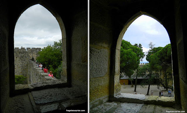 Muralhas do Castelo de São Jorge, Lisboa