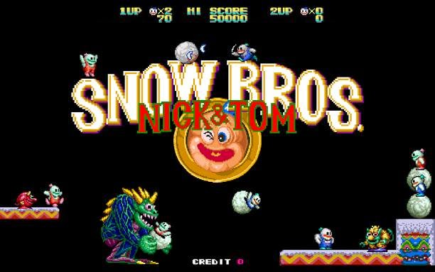 Snow Bros PC Game Free Download Full Version