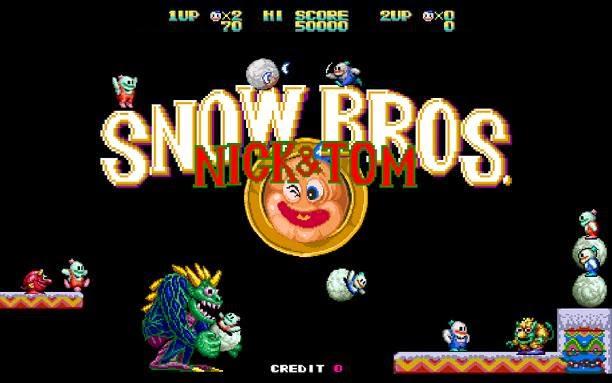 Snow Bros PC Game Free Download Full Version