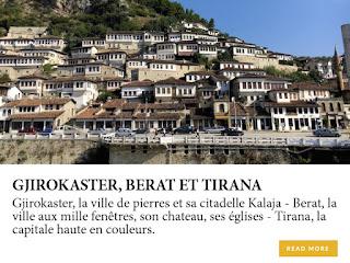Visiter Gjirokaster, Berat et Tirana en Albanie