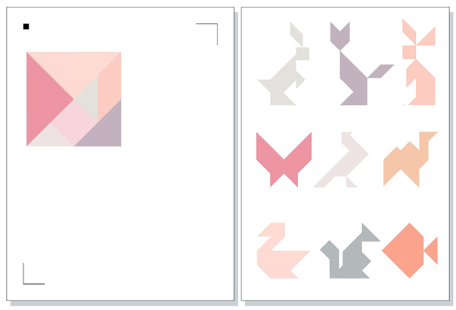 Silhouette UK: Tangram Puzzle Fridge Magnets with FREE CUT FILES