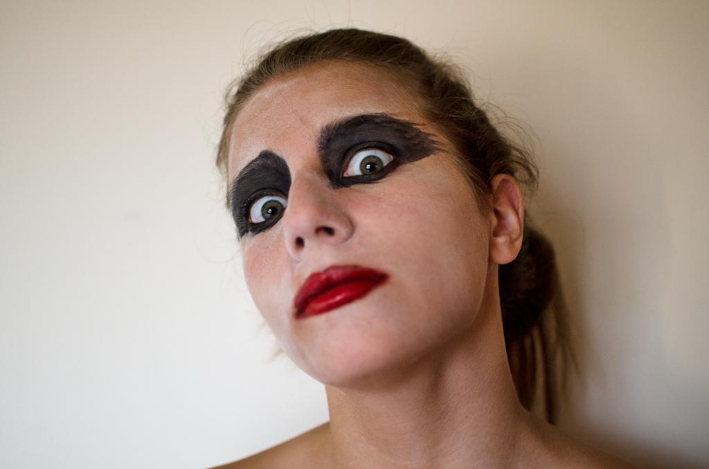 Makeup: Stark Staring