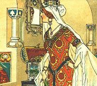 Königin magischer Spiegel Schneewittchen