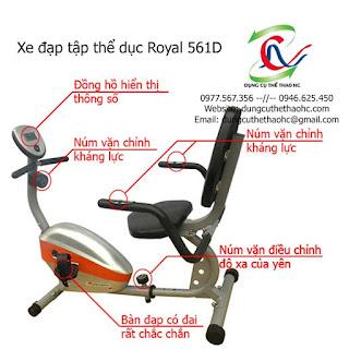 Xe đạp thể dục Royal 561D giá rẻ