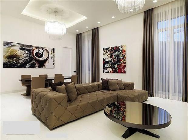 Art+Décoration: Comment aménager un salon moderne ?