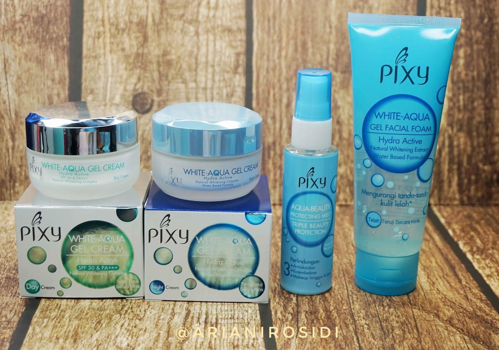 pixy white aqua series
