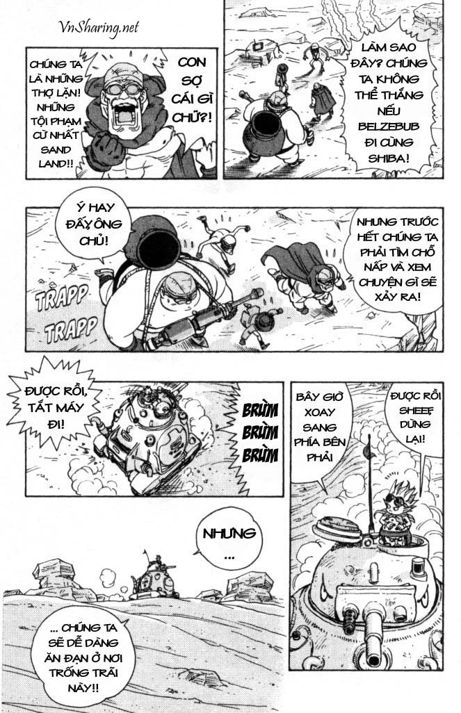 SandLand chap 7 trang 9