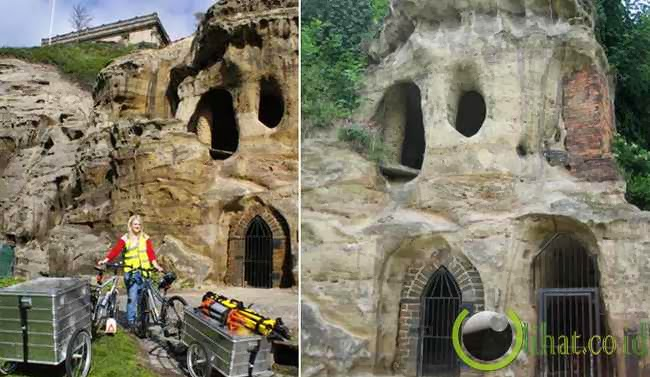Nottingham Cave Houses, East Midlands, Inggris