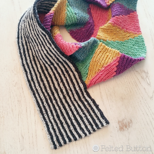 Long and Short Scarf free crochet pattern using Scheepjes Secret Garden yarn