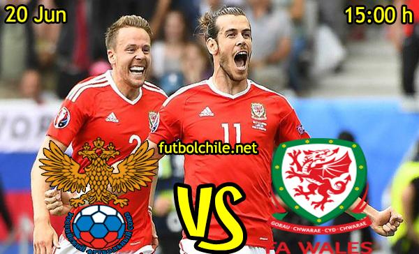 VER STREAM RESULTADO EN VIVO, ONLINE: Rusia vs Gales