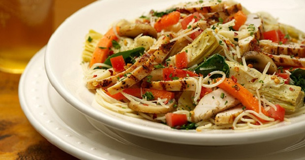 Carino's Chicken Primavera Recipe