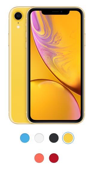 кольори нового Iphone Xr