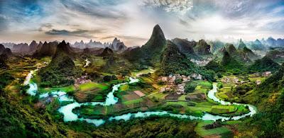 Gambar Pemandangan Alam Ghaib Panorama Indah Mistis