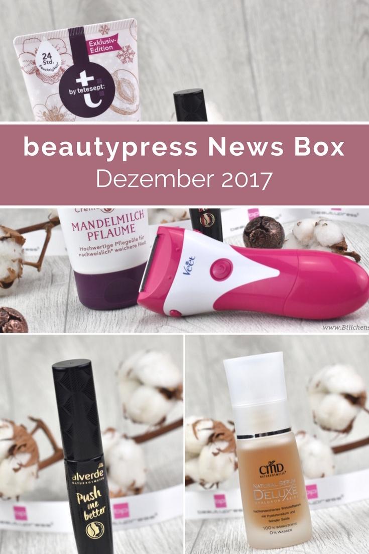 beautypress News Box Dezember 2017 - Unboxing und Inhalt