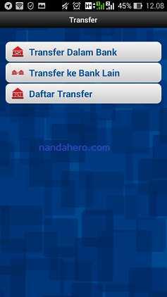 cara transfer internet banking bri ke bca