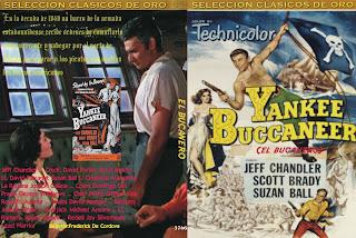 Carátula: Bucaneros del Caribe (1952) Yankee Buccaneer (aka: El bucanero)