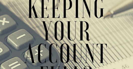 (#AuthorToolboxBlogHop) Monitoring Your *Creative* Bank Account