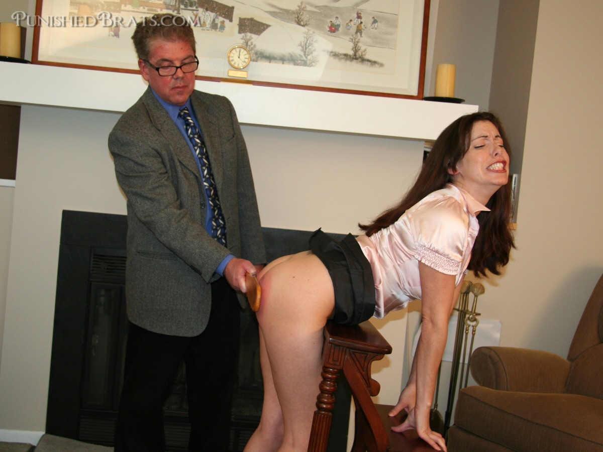 Male that students female teachers spank