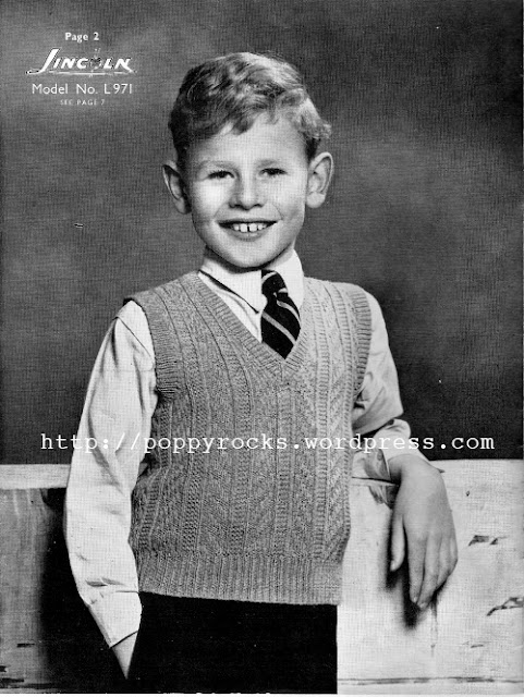The Vintage Pattern Files 1940 S Knitting Boy S