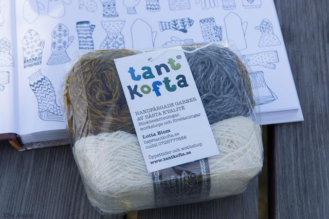 Materialkit från Tant Kofta för mönstret Kråke