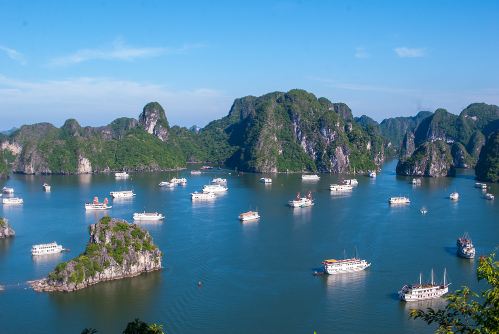 image of the amazing view ha long bay vietnam