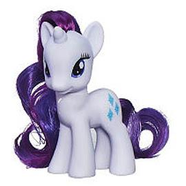 MLP Princess Celebration Cars Rarity Brushable Pony