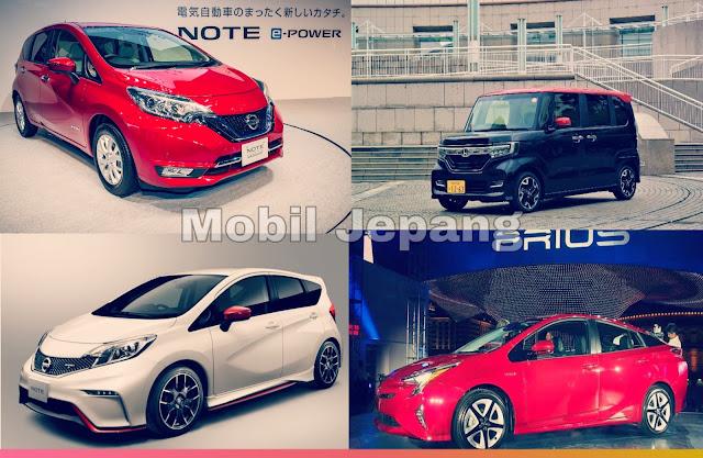 Apa Saja Kumpulan Daftar Mobil Paling Laris di Jepang Terbaru Saat Ini?