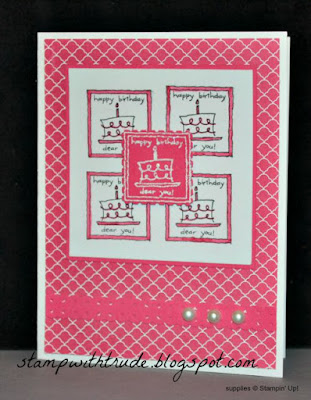 Love Notes, Stampin' Up!, stampwithtrude.blogspot.com, Trude Thoman, Throwback Thursday, birthday card