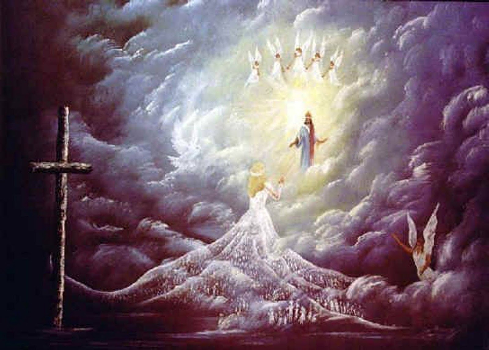 The Rapture Painting
