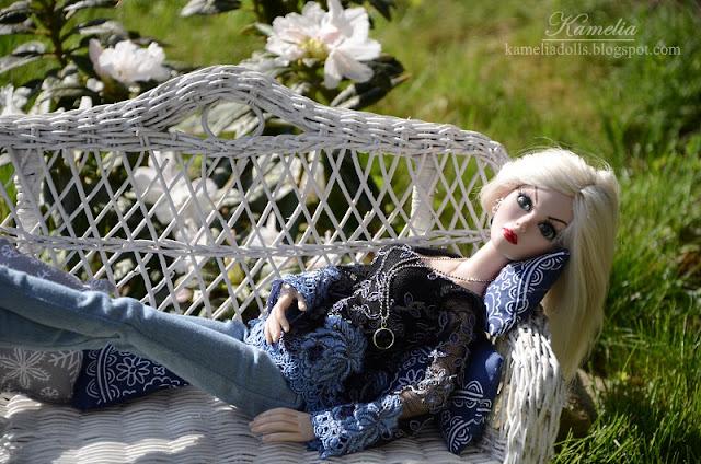 Evangeline Ghastly handmade modern outfit