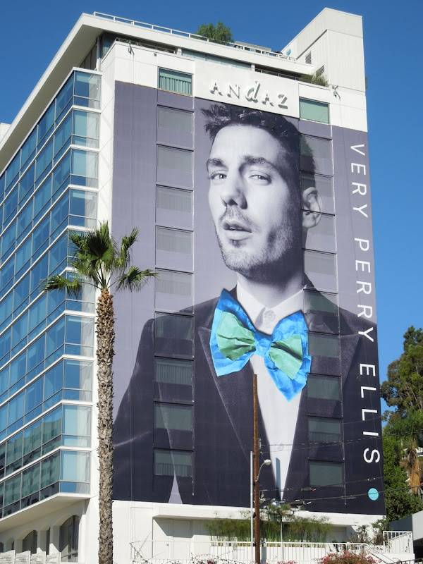 Giant Very Perry Ellis billboard