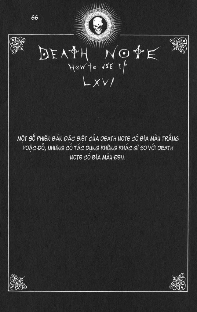Death Note chapter 110 - how to use trang 69
