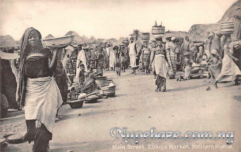 Lokoja Market Kogi state , Lokoja Old Market Kogi Nigeria