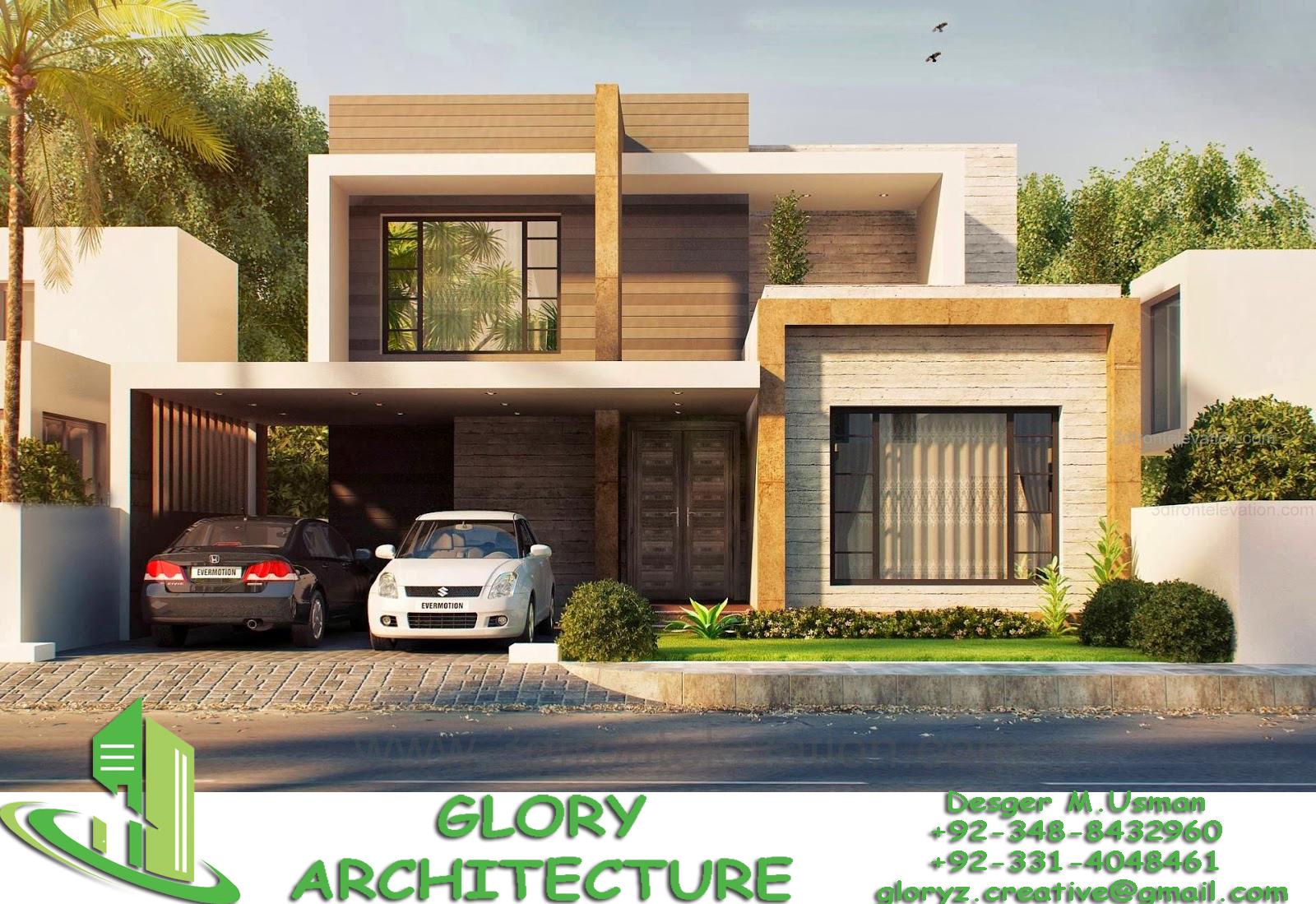 50x90 house elevation 50x90 islamabad house elevation for 3d view of house