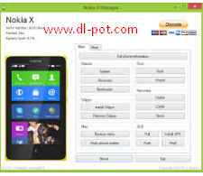 Nokia X Manager Latest Version V2.0.0.1 Free Download
