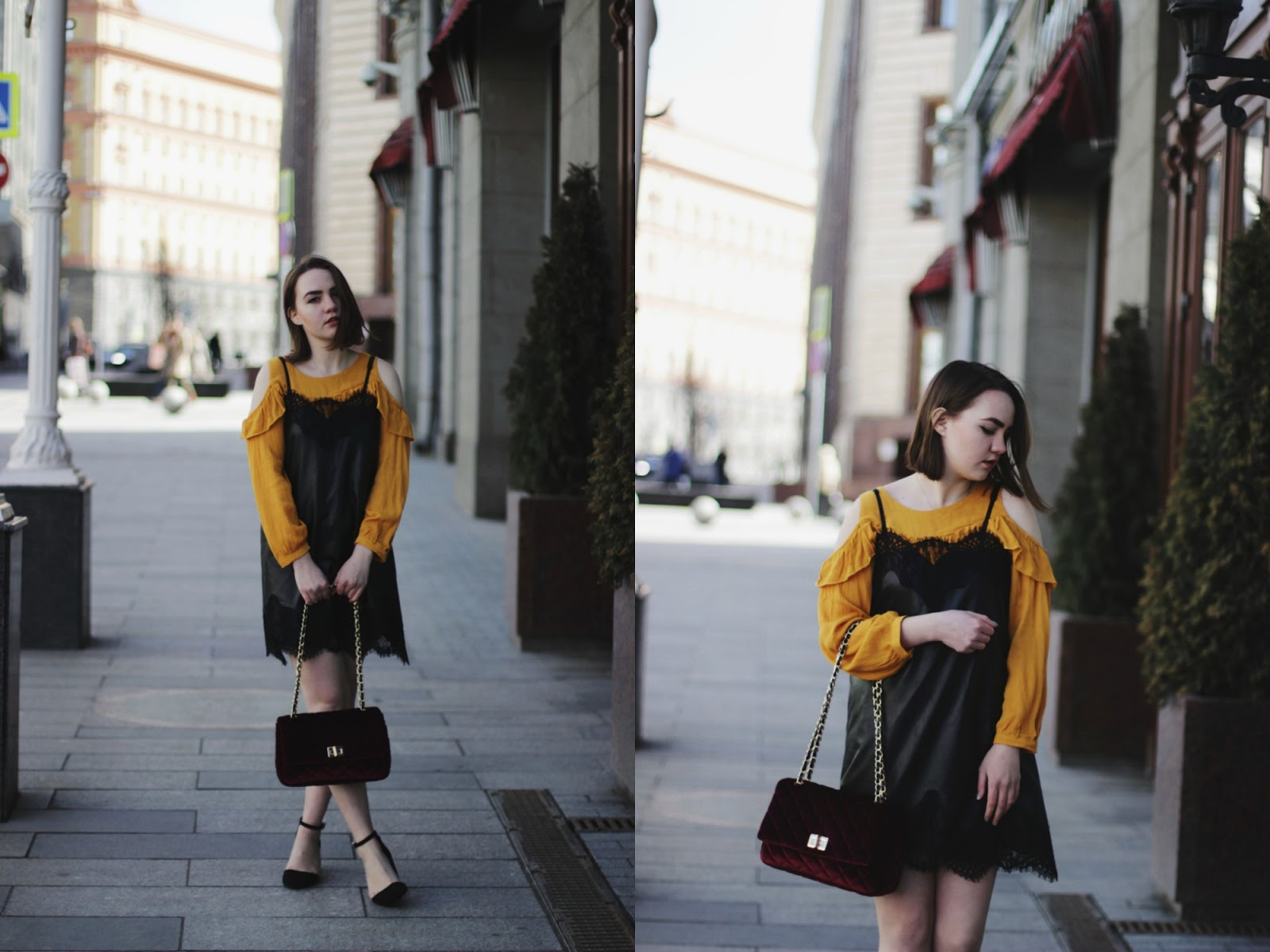Shein Yellow Top | Fashion Blogger