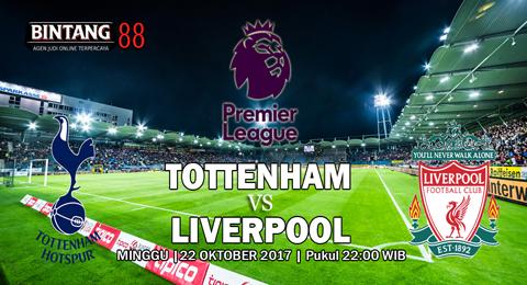 Prediksi Tottenham Hotspur vs Liverpool 22 Oktober 2017
