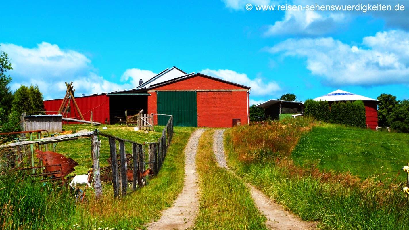 Urlaub Bauernhof Schleswig Holstein Holsteinische Schweiz