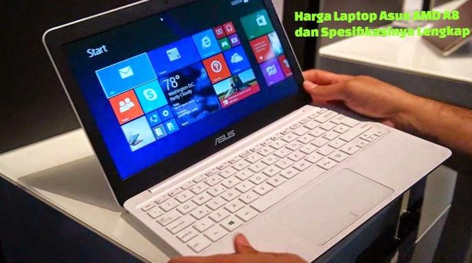 Laptop Asus Amd A8