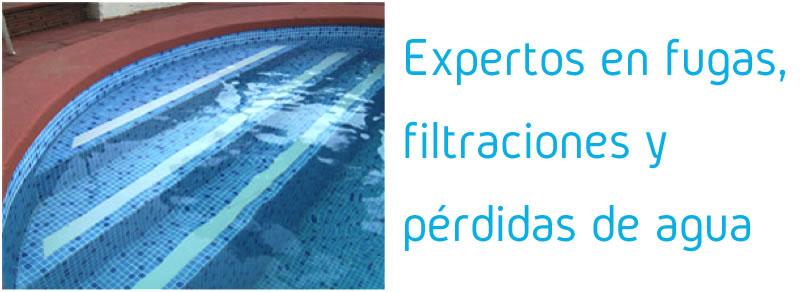 Expertos en reparación de fugas, filtraciones y pérdidas de agua en piscinas - Espool Piscinas, Guadalajara – info@espoolpiscinas.es