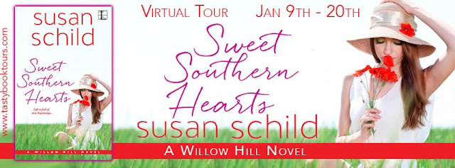 Sweet Southern Hearts Virtual book tour banner