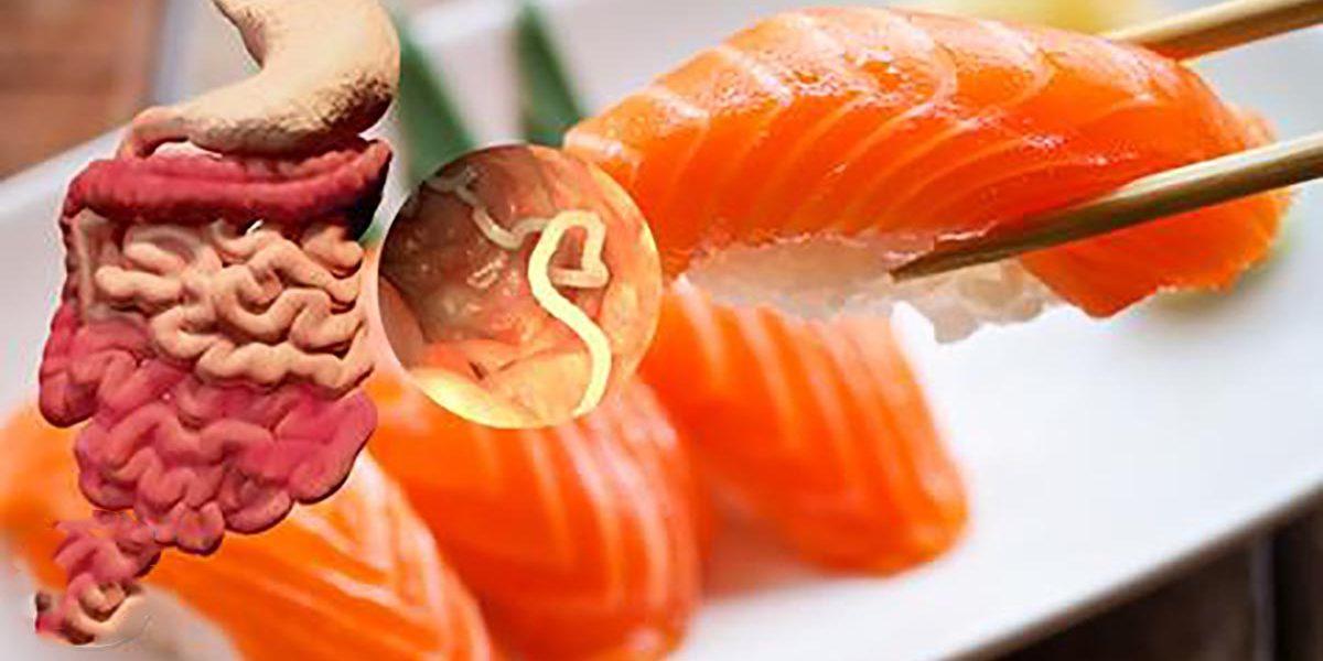 sushi, tapeworm
