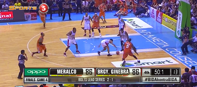 Ginebra def. Meralco, 88-86 (REPLAY VIDEO) October 14 - FINALS Game 4