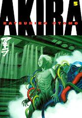 Cover of Akira Volume 5 Manga Graphic Novel