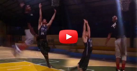 Ray Parks Jr. CROSSOVER and Dunks on Rayver Cruz (VIDEO)