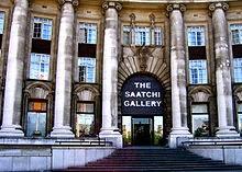 The Saatchi Gallery London UK