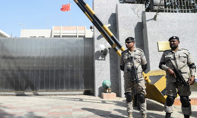Inimical Foreign Elements Behind Chinese Consulate Attack | Fawad Chaudhry
