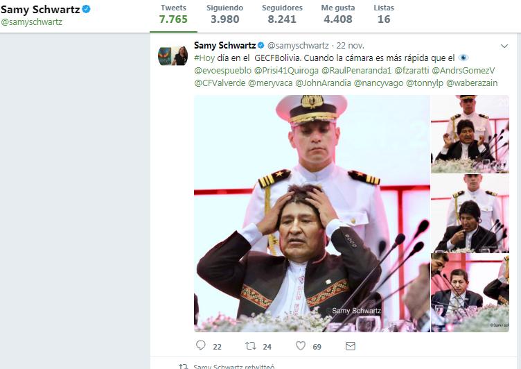 Las 4 fotos que indignaron al régimen de Evo Morales